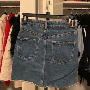 Zara Skirts - ZARA denim skirt